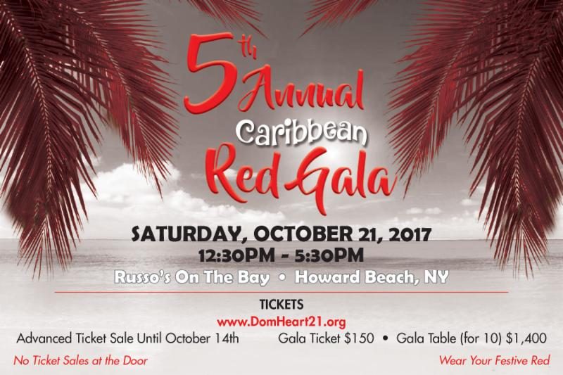 Event – 5th Annual Caribbean Red Gala